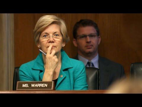 Elizabeth Warren, Ben Bernanke Clash Over Bank Speculation