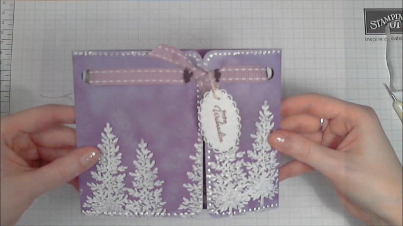 Christmas Card Gatefold Card YouTube
