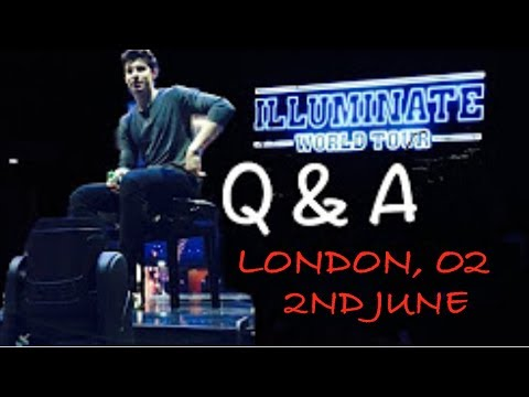 Full Q&A with Shawn Mendes (O2, London, 02.06.17)