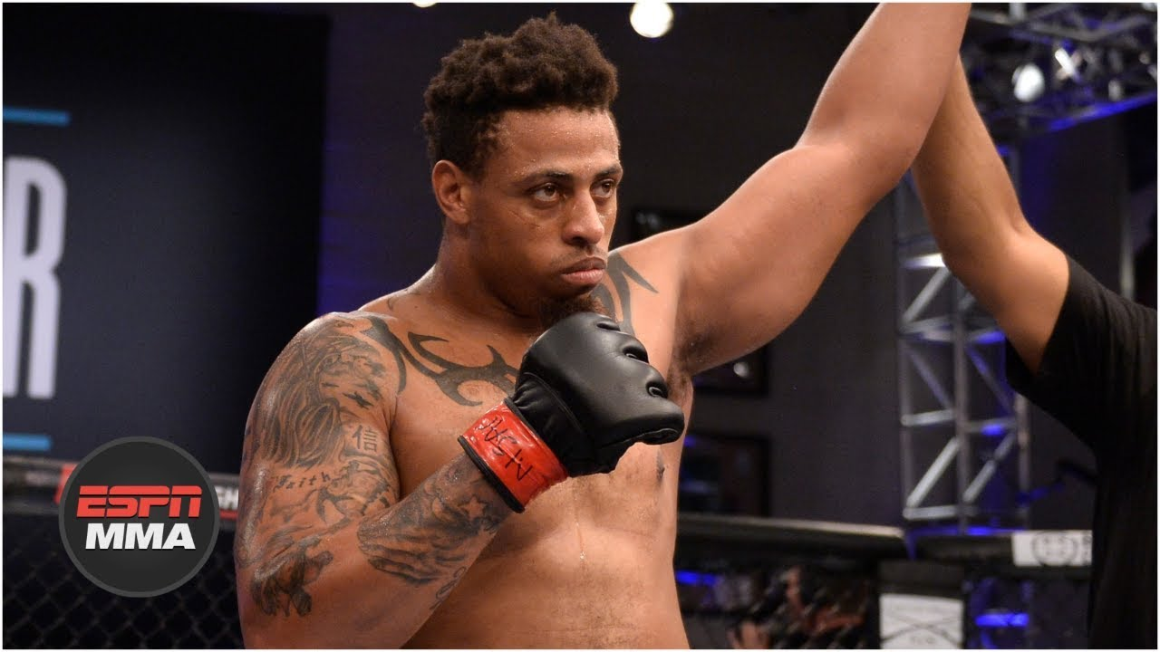 Greg Hardy wins controversial UFC fight in under a minute