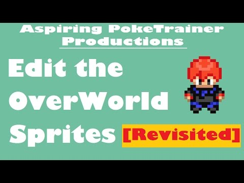 Edit The OverWorld Sprites In Pokemon FireRed   Revisited Tutorial