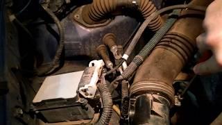 How to fix a P0172 engine code on a V6 Toyota Tacoma