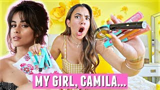 My girl, Camila... What is this? Reviewing Camila Cabello x L'Oreal Paris makeup collection collab