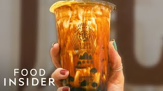 Why New Yorkers Are Swarming This International Boba Shop Chain | Line Around The Block