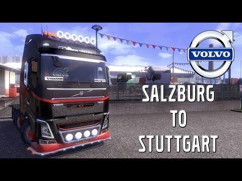 Euro Truck Simulator 2 - #35 - Salzburg to Stuttgart