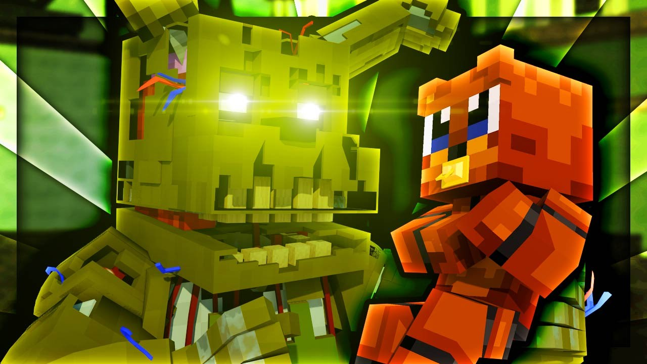 Fnaf Who U0026 39 S Your Daddy - Springtrap Is Our Daddy   Minecraft Fnaf Roleplay   7