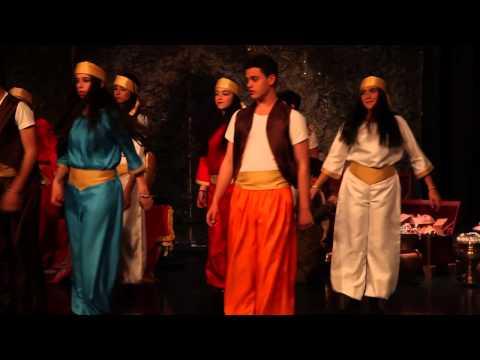 Aladdin play at Al Mashrek