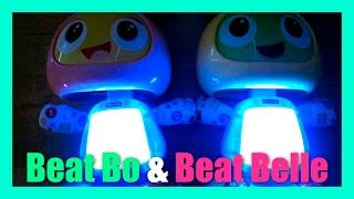 Fisher Price Beat Bo Bright Beats Belle Sing and Glow In The Dark