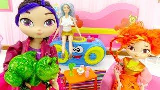 Видео для девочек с куклами. Сказочный патруль идет на бал