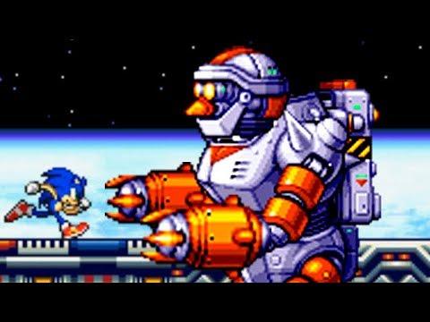 Sonic Advance 2 (GBA) All Bosses (No Damage)