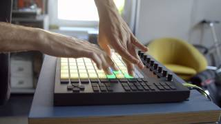 Ableton Push Performance: Mad Zach