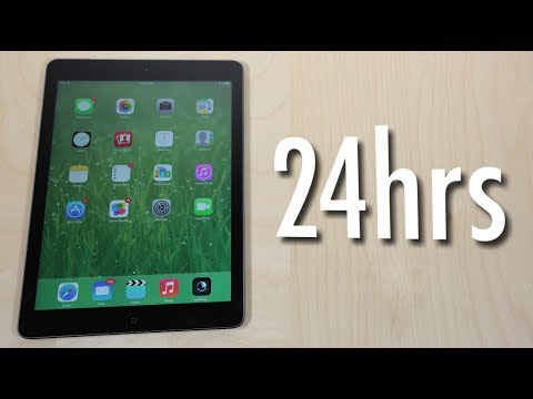 24hrs with the iPad Air