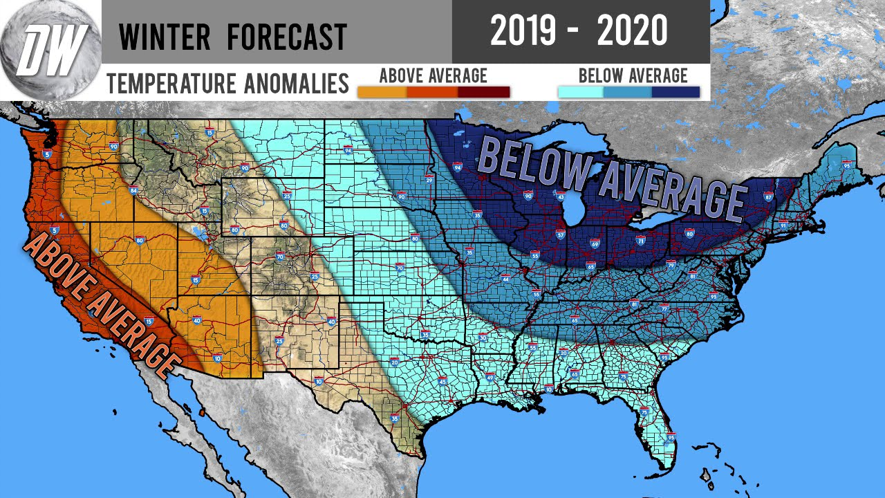 Accuweather Winter Forecast 2020.Winter Forecast 2019 2020 3
