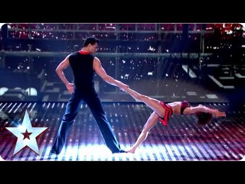 Martin and Marielles highflying dance routine | Semi-Final 2 | Britains Got Talent 2013