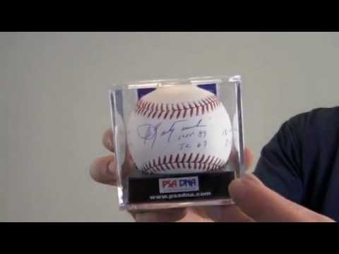 Carl Yastrzemski Signed Baseball - Multiple Inscriptions - PSA/DNA