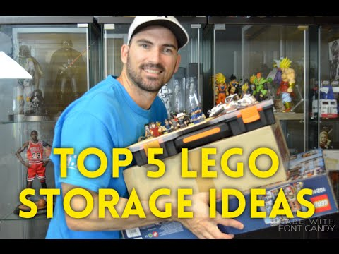 Top 5 Lego Storage Ideas