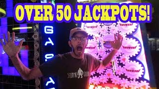 MOST EPIC ARCADE VID EVER! - All Jackpots & Big Wins - Best of 2016 Compilation