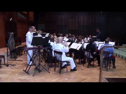 U.S. Naval Forces Europe Band Trains with Naples Conservatory of Music