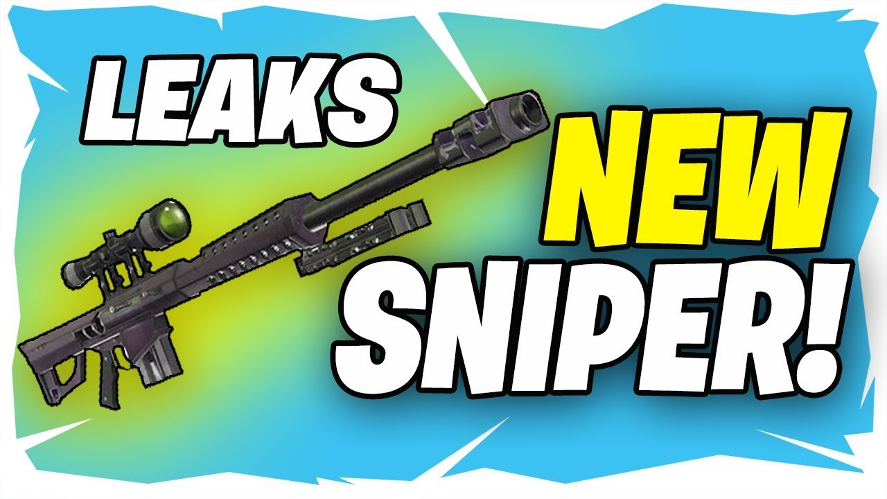 New Fortnite Heavy Sniper Rifle Fortnite New Heavy Sniper Rifle