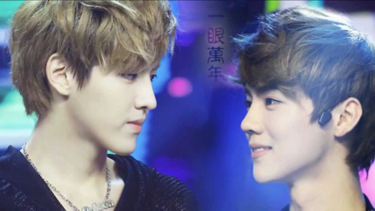 exo kris and luhan relationship