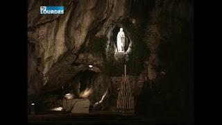 Diffusion en direct de la Grotte de Lourdes thumbnail