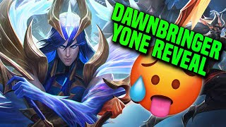 First Thoughts On Dawnbringer Yone + Gameplay - League of Legends