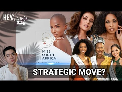 Am I thinking what the Miss South Africa Organization is thinking ?