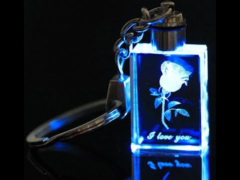 Mini 3D Laser Glass Crystal Engraving Machine For Shopping Mall Kiosk And Photo Booth