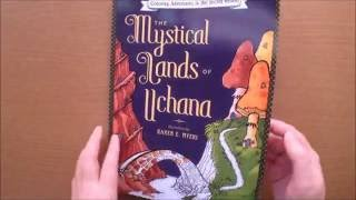 The Mystical Lands Of Uchana by Karen Myers Colouring Book Flipthrough