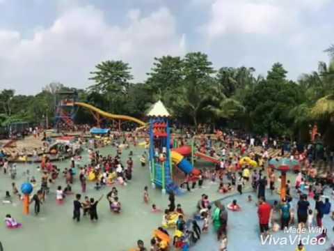 Taman Wisata Pasir Putih Sawagan Depok Youtube