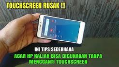 Tips sederhana jika Touchscreen hp rusak dengan mengganti pakai mouse