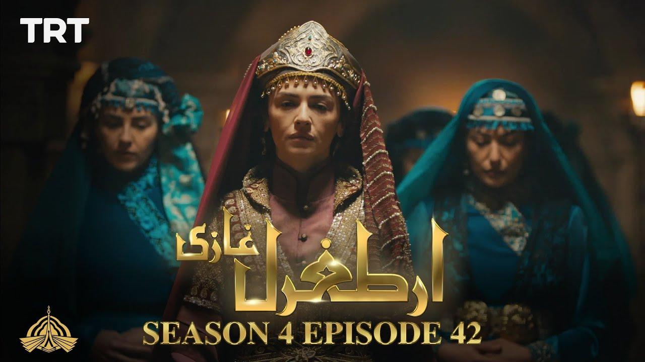 Ertugrul Ghazi Urdu   Episode 42  Season 4