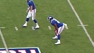 Johnathan Stewart Mid Game Fart | Browns vs Giants