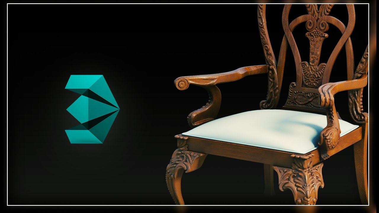youtube chair yoga space saver high walmart 3ds max furniture modeling masterclass for arch viz and turbosquid -