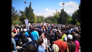 """""""У нас есть выбор!"""": протесты в Казахстане   АЗИЯ"""