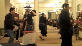 PORTMANTEAU Silent Library Dance Party: Delightfully Awkward Dance Moves Theme Night (Fall 2009)