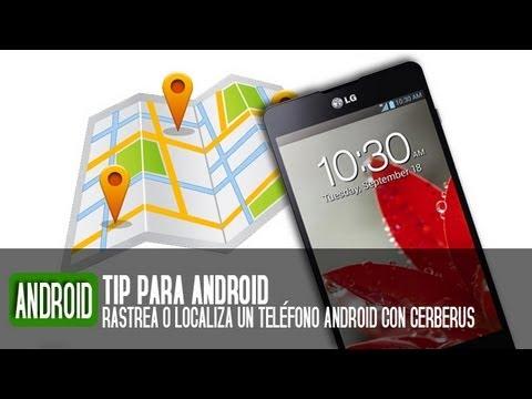como localizar un telefono celular android