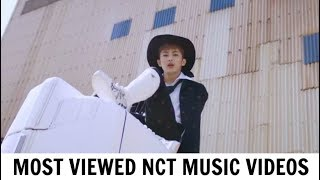 [TOP 20] Most Viewed NCT Music Videos | January 2018