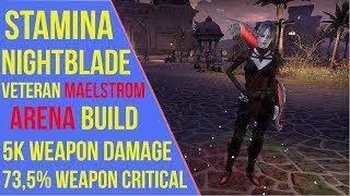 Eso Stamina Nightblade Pve Build | Asdela