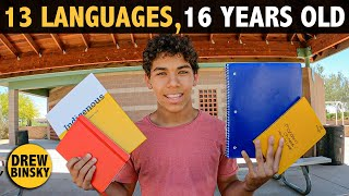 13 LANGUAGES AT 16 YEARS OLD!