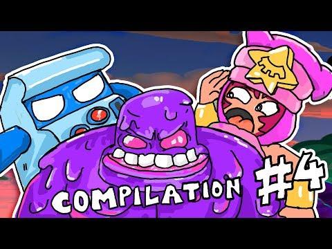 Best Brawl Stars Animation Compilation #4 - By Guru Mobile Game
