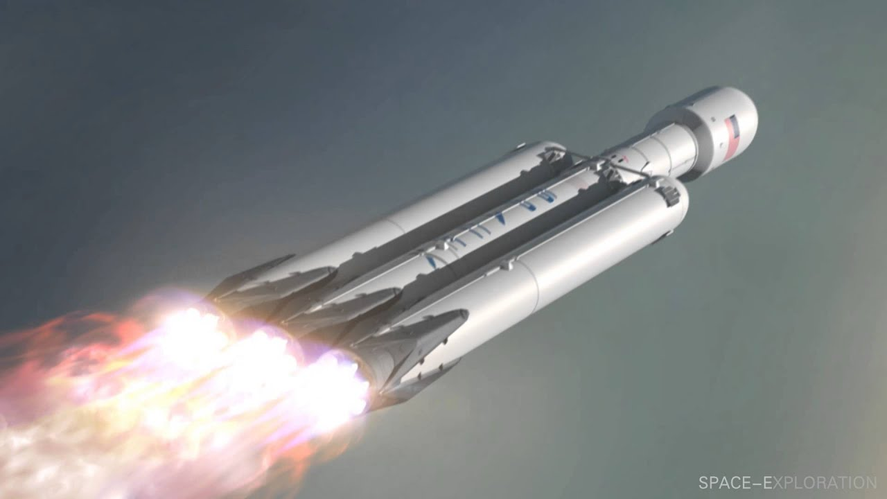 spacex falcon heavy youtube