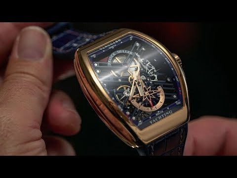 Own a mega yacht? Then check this Franck Muller Vanguard S6 Yachting watch out