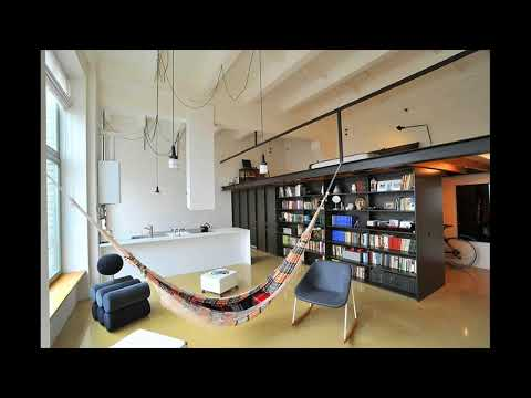 Streamlined Loft space House in Former Radio Technics Factory in Vilnius, Lithuania