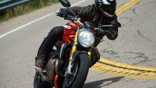 2014 Ducati Monster vs KTM 1290 Super Duke Part 1 - MotoUSA