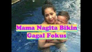 Lucunya Rafathar Renang NANGIS KEDINGINAN, Netizen SALFOK Baju Renang Mama Nagita l Keluarga RAN