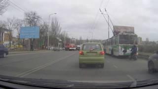 Одесса, тяжелое ДТП недалеко от ул.Парковой 29.01.17.