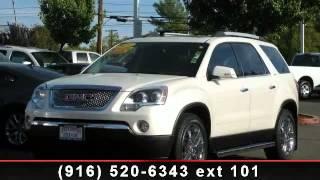 2010 GMC Acadia - Folsom Buick GMC - Get Financing!, CA 956