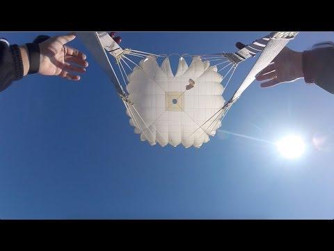 Прыжки с парашютом Д1-5У. Смоленск 14 мая