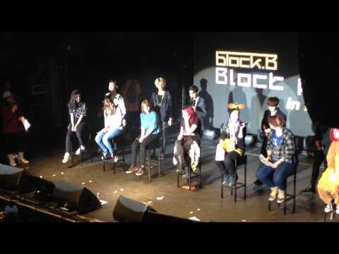 150301 Block B Romantically live in Helsinki